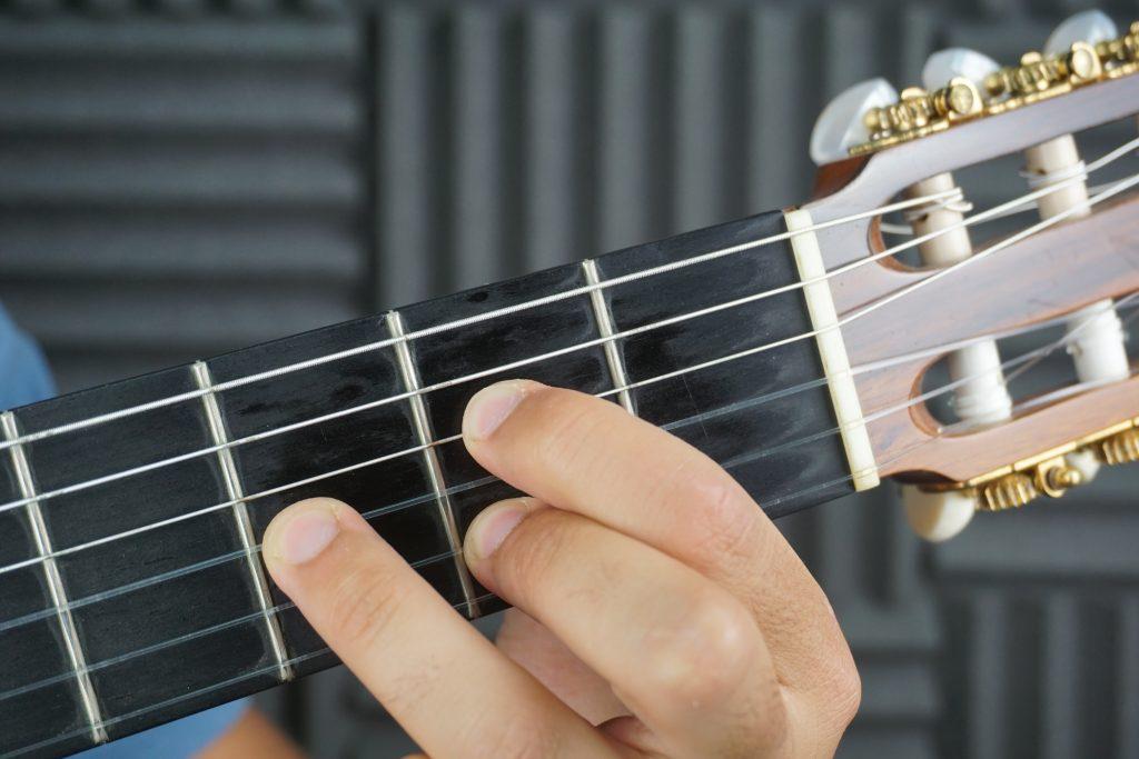 Acorde la flamenco guitarra flamenca por medio