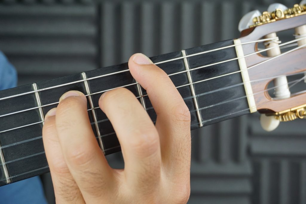 Acorde fa sostenido flamenco guitarra flamenca taranta