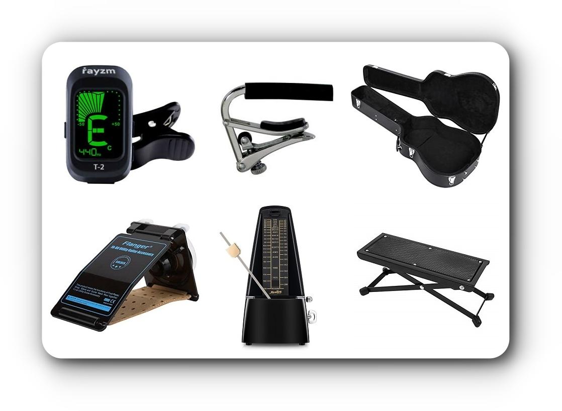Accesorios para guitarra flamenca