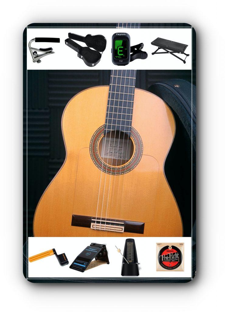 Comprar guitarra flamenca y comprar accesorios
